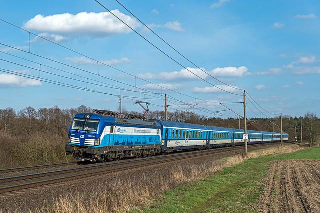 Muessen Feldweg EC 174 Praha hl n - HHa 193 298-7 Fidorka