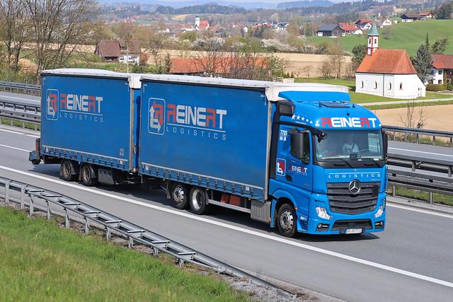 MB Actros 2542  Reinert Logistic