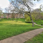 Path at Winckley Square Preston
