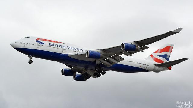 British Airways 🇬🇧 Boeing 747-400 G-BNLK