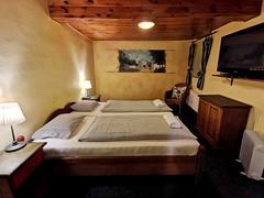 útulný pokojíček hotelu Plešivec