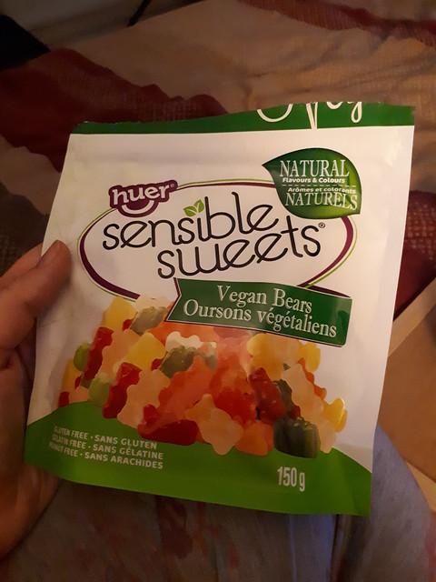 Vegan Gummy Bears by Sensible Sweets