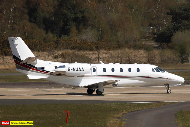 G-NJAA | Cessna 560XL Citation XLS | NetJets UK