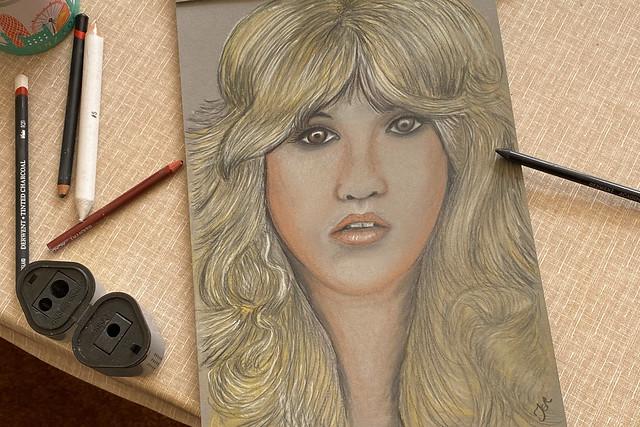Stevie Nicks Portrait