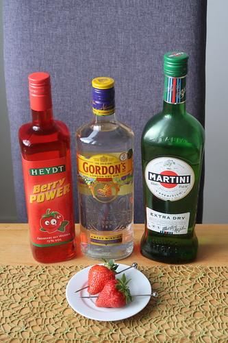 Zutaten für Bloodhound Cocktails