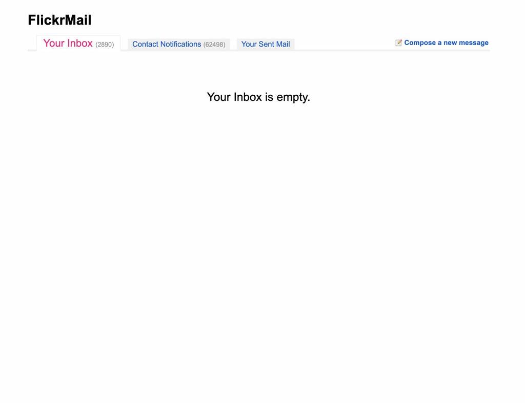 Your Inbox is Empty