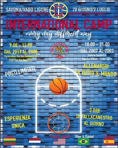 international camp prima pagina