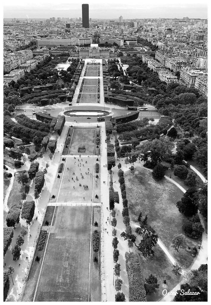 Aerial from Eiffel Tower