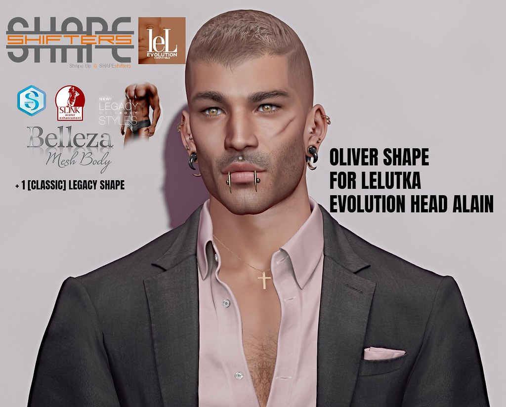 [SHAPEshifters]OLIVER SHAPE FOR LELUTKA EVOLUTION HEAD OLIVER (1)