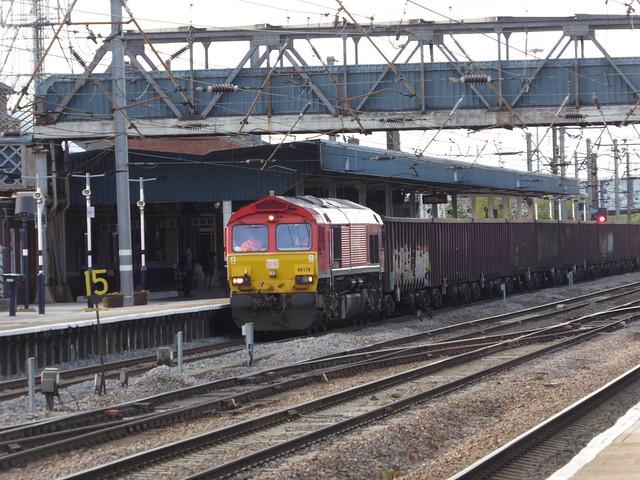 66118 passes Doncaster (13/5/21)