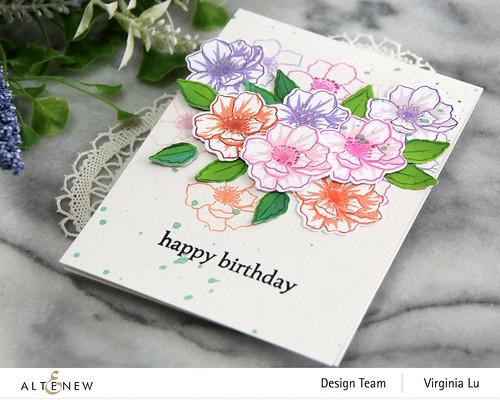 Altenew-MD Winsome Bloom-Wonderful Wycinanki Stamp Set -002