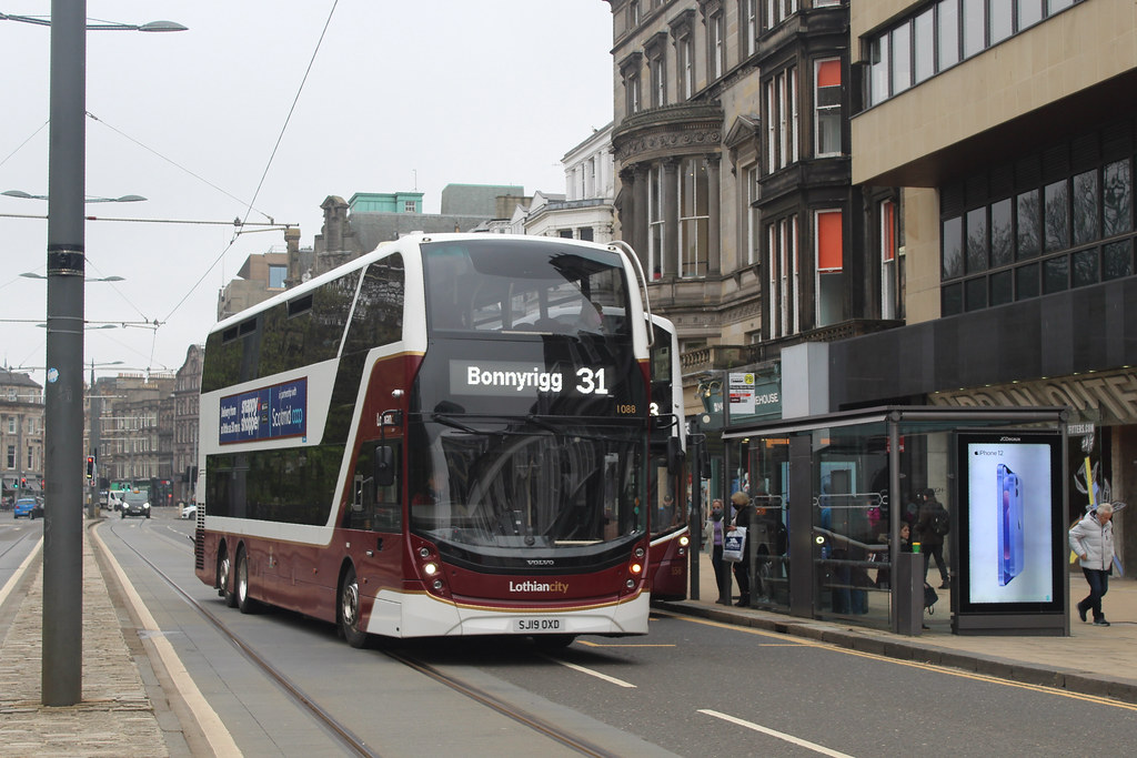 (1088) SJ19OXD On Route 31 to Bonnyrigg (GF) (May2021) (C1300D)