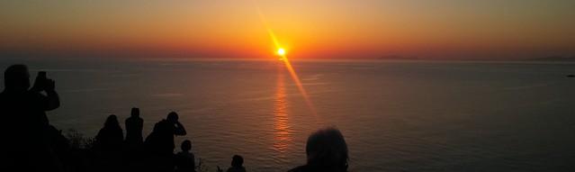 Des del far d'Akrotiri (Santorini)