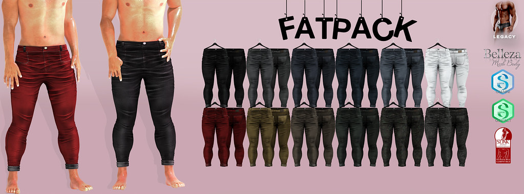 MAZA// Skinny Pants Billie// FATPACK