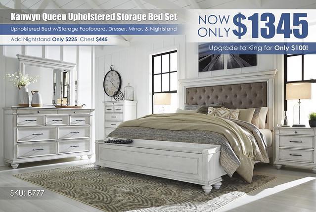 Kanwyn Vintage White Storage Upholstered Bedroom Set_B777-158-56S-MOOD-A_May_2021