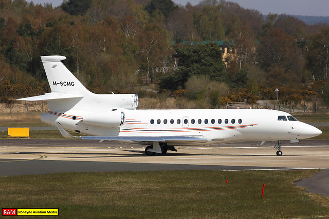 M-SCMG | Dassault Falcon 7X | BlueSky International Management
