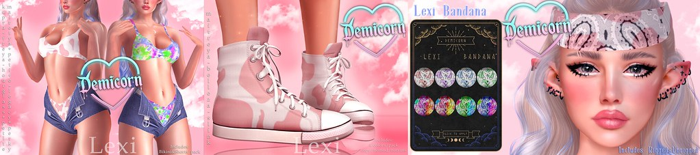 {Demicorn} Lexi @ Dirty Discounts AD 69L PROMO/PACK 5/14
