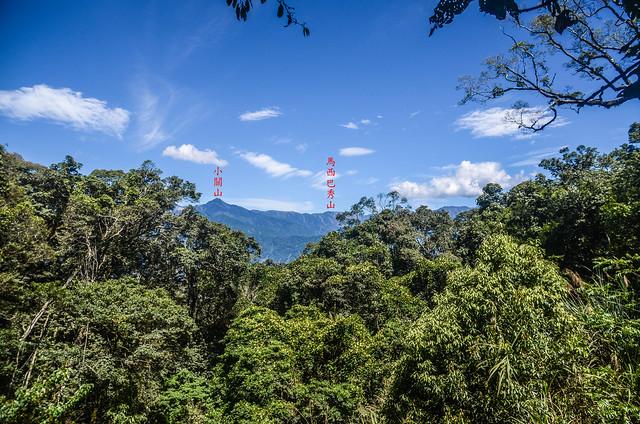南我丹稜線巨木展望點東望小關山 (1)