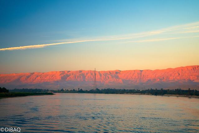 Sunset Desert & Nile