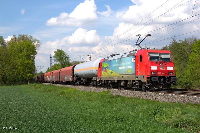 DB 185 401 in Ratingen