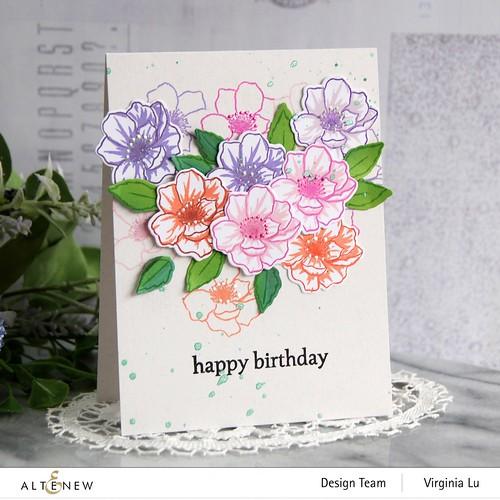 Altenew-MD Winsome Bloom-Wonderful Wycinanki Stamp Set