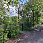 12th May 2021. Stretford Cemetery Gates, Hawthorn Road, Manchester.