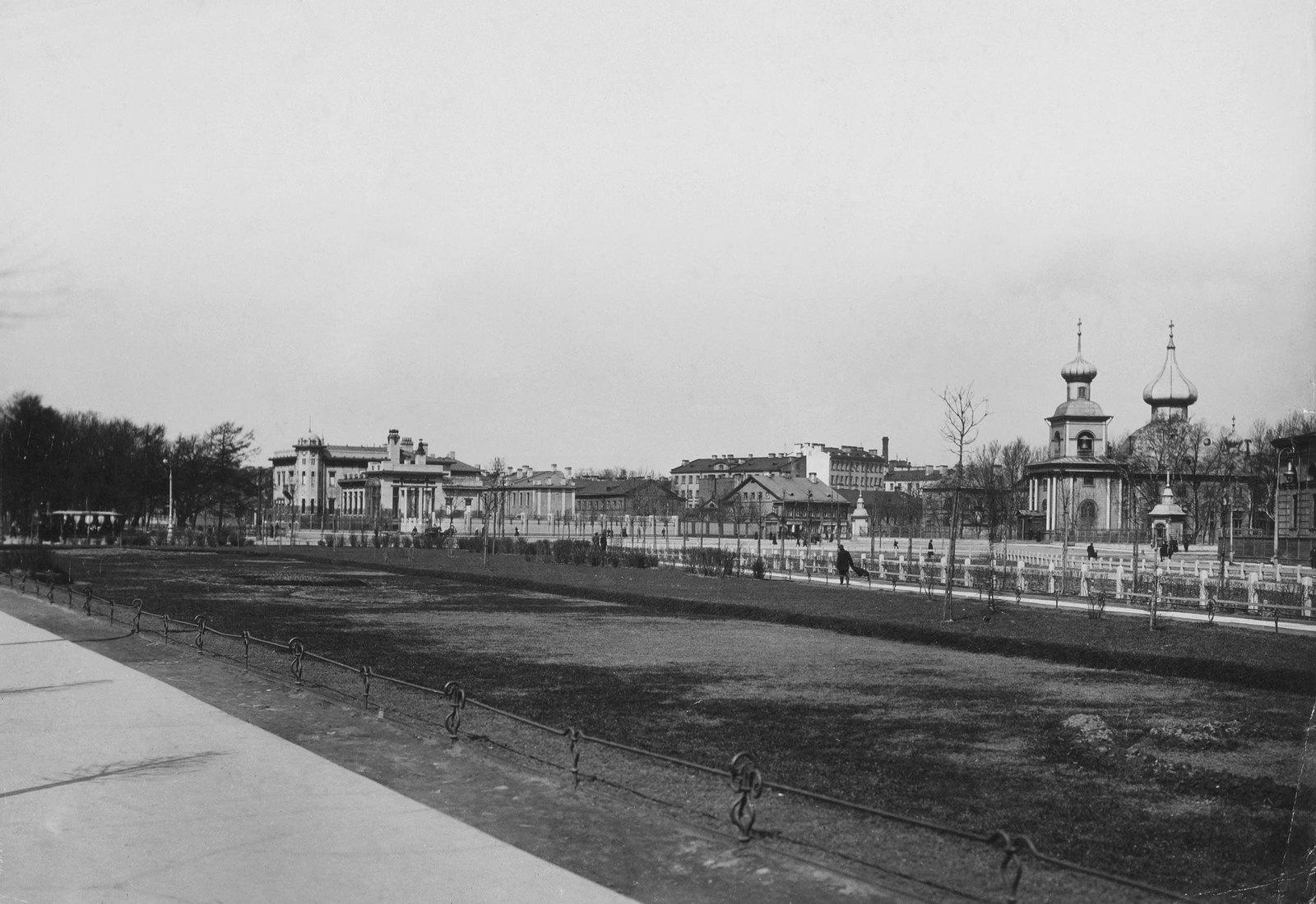 1900-е. Троицкая площадь