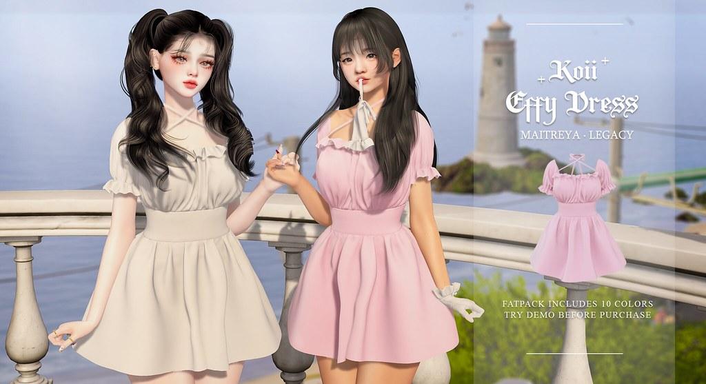 † Koii † Effy Dress @Kustom9