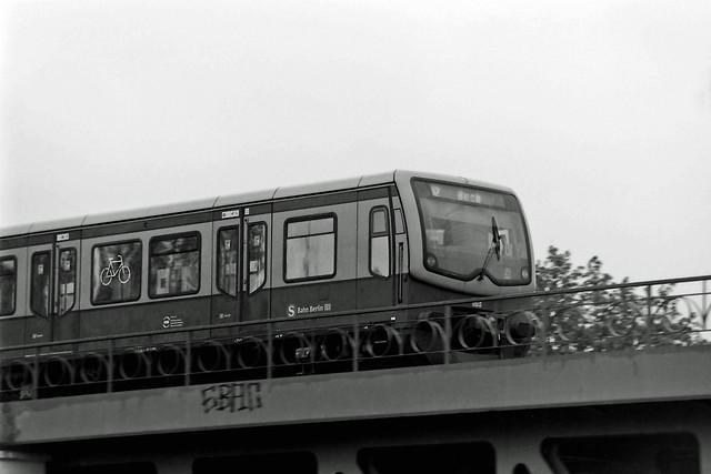 Berlin S-Bahn S2 13.5.2021 Brücke Teltowkanal