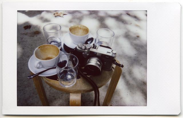 camera and coffee, Sydney, autumn 2021  #501