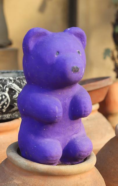 Teddy Bear made of clay