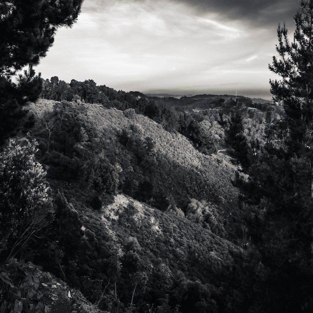 California Hills, Framed