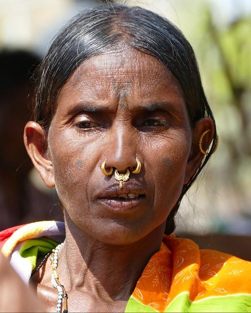 Femme Adivasi