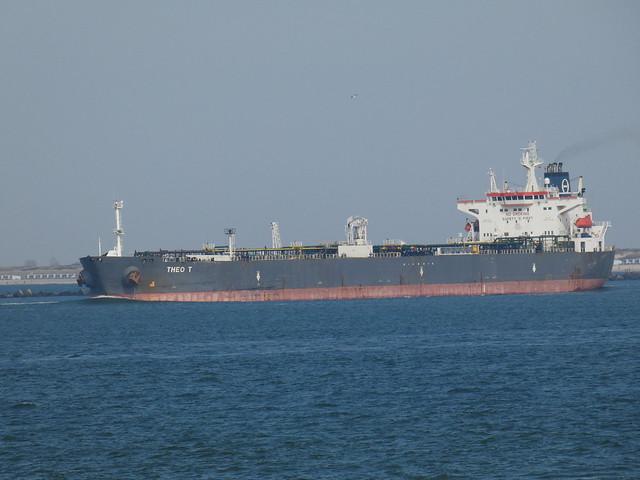 Theo T - Crude Oil Tanker - Edisonbaai - Rotterdam
