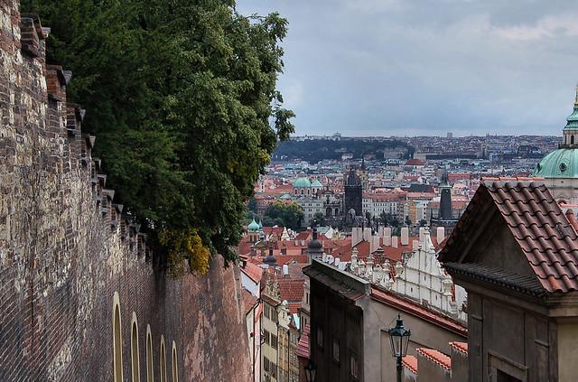 Praha, na Zámeckých schodech-DSC_4392p