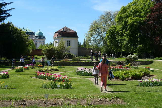 The Botanical Garden at Tulip Time
