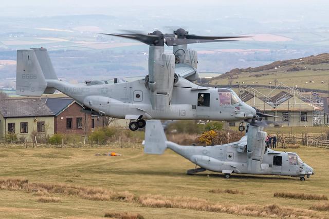 Bell-Boeing MV-22B Osprey I 168666/YS-13 'VORTEX11' I VMM-162 'Golden Eagles' USMC