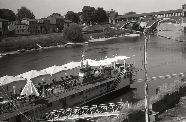 Pavia: Ristorante Imbarcadero.