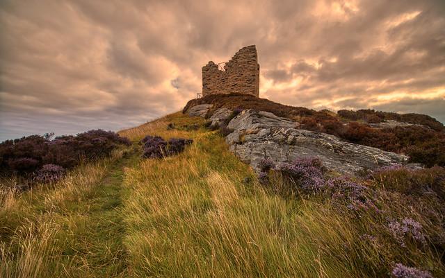 Castle Varrich, Tongue, Scotland.
