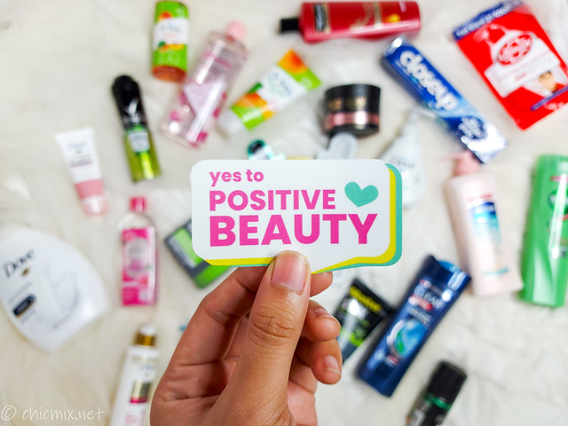 Unilever shopee yes to positive beauty