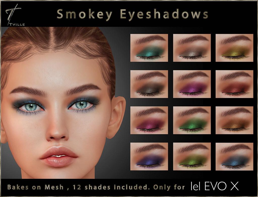 Tville - Smokey Eyeshadows LeL EVOX