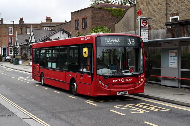 Route 33, London United, DE20522, YX59BYP
