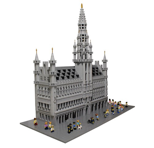 LEGO Brussels Town Hall