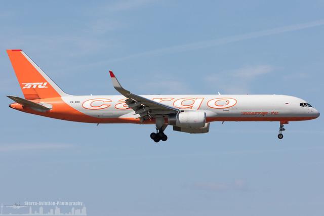 VQ-BKK Aviastar-TU Airlines Boeing 757-223(PCF)(WL) (FRA - EDDF - Frankfurt)
