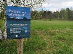 Får och grödor ska skyddas bättre nu vid Röllingby backar! Åkersberga, Österåker
