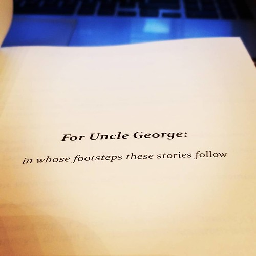 The dedication page for THE SAVIOR WORLDS. I would not be the storyteller I am today without George Lucas's work. It's just that simple. #HappyBirthdayGeorgeLucas #StarWars