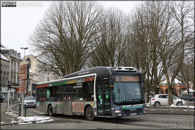 Man Lion's City Hybrid – Keolis Laval / TUL (Transports Urbains Lavallois) n°425