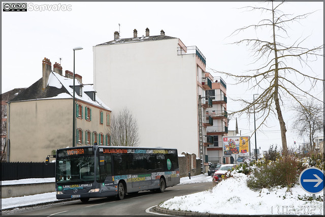 Mercedes-Benz Citaro – Keolis Laval / TUL (Transports Urbains Lavallois) n°308