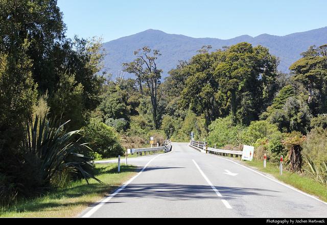 Haast Highway, New Zealand