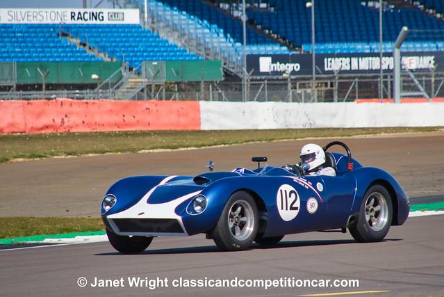 1957 4.3 litre Kellison J4R Nick Taylor:Richard Tyzack NC 2021 FISCAR Spring Start VSCC